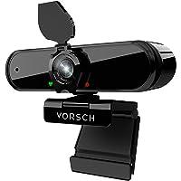 Webcam per PC con Microfono 1080P Web Cam Fisso USB 2.0 Full HD Telecamera Streaming Plug and Play con Clip Regolabile…