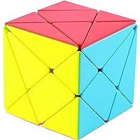 TOYESS Axis Cube 3x3 Stickerless, Cube de Vitesse 3x3x3 | Cube Magique pour Garcon & Fille Cadeau de Vacances (sans…