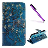 Funda Samsung Galaxy S3 Mini,EMAXELERS Funda Galaxy S3 Mini Libro Suave PU Leather Cuero impresión...