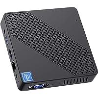 Mini PC Fanless Intel Celeron N4020 (up to 2.8GHz) 4GB DDR/64GB eMMC Mini Desktop Computer Windows 10 Pro HDMI and VGA…