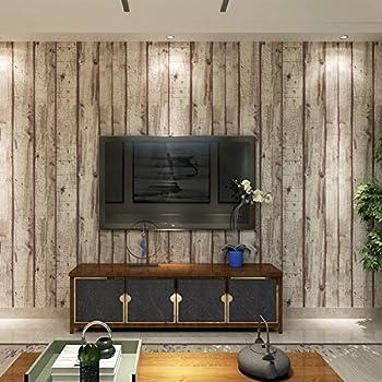 1wall papier peint effet bois blanc cuisine maison. Black Bedroom Furniture Sets. Home Design Ideas