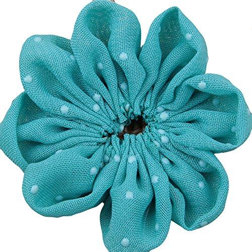 Surker bricolage Dot mousseline main Tissu Fleurs HB00143A (20)