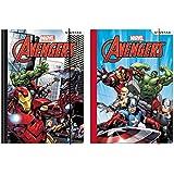 Marvel Avengers carpetas con goma elástica carpeta Juego de 2