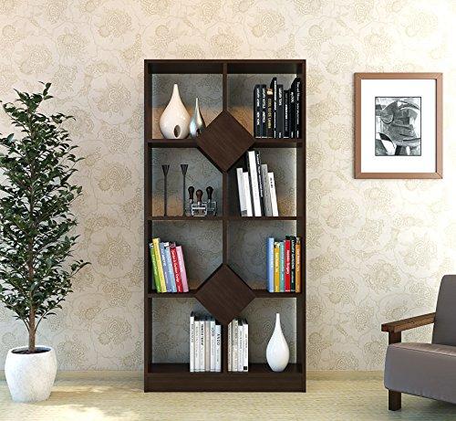 KARIZMA Libreria - Wengé- Scaffale per libri - Divisorio- Scaffale ...