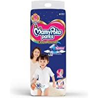 MamyPoko Diaper Pants Extra Absorb, X-Large, 36 Pieces, 12-17Kg (Pack of 1)