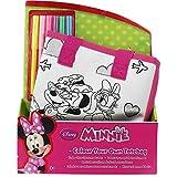 Borsetta Borsa Da Colorare per Bambini Set Da Disegno Con 6 Colori Borsa Stoffa Disney Minnie