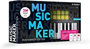 Music Maker – 2020 Performer Edition – Music Maker Premium 2020 Edition + USB-Pad-Controller.|Performer|Mehrere|Limitless|PC