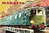 ComCard Märklin Eisenbahn Elektro E-Lok Zug Train Schild aus Blech Tin Sign