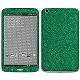 atFolix Samsung Galaxy Tab 3 8.0 (WiFi SM-T3100) Skin FX-Glitter-Green-Mile Designfolie Sticker - Reflektierende Glitzerfolie