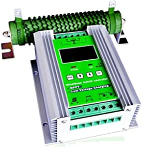 Hybrid Mpt Solar Wind Charge Controller Wind 600 W Pv 400 W Garten