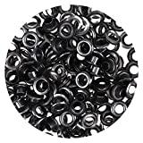 Bulk Pack of 100 Eyelets & Washers 5 mm (Selection) Sliver, Bronzed for securing Leather Tents Clothing (Burnished Gold).