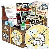 Einhorn   Männergeschenk   Männerbox mit Flasche Überraschungsbier, Kondomen, Schnaps und vielem mehr