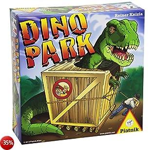 Piatnik - Dino Park Gioco con Dadi