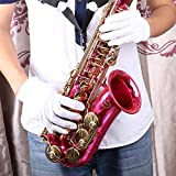 SG Musical Musical Instrument White Performance Golves for Saxphone Trumpet Flute Clarinet Marching Bands