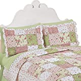 Best Collections Etc Bed Skirts - Collections Etc Country Bloom All Over Floral Patchwork-Style Review