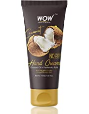 WOW Coconut Gentle Hand Cream - No Parabens, Silicones, Mineral Oil, Color & PG - 40mL