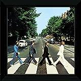 GB Eye Ltd, The Beatles, Abbey Road, Bild gerahmt, 30x 30cm