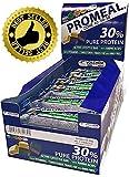 PROMEAL ZONE 40-30-30 - Volchem -BARRETTA DIETA A ZONA- 24 barrette da 50 grammi GUSTO MENTA (Ciocco. Fondente/Dark Menta) immagine