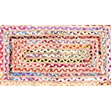 "Indio de algodón hecho a mano tradicional alfombra algodón yute alfombra yute trenzado de algodón alfombra piso alfombra de yute pequeño yute alfombra india trenzado trenzado de algodón alfombra de trapo alfombra hecha a mano 36x 24""yute trapo alfombra, hecho a mano algodón yute alfombra para suelo alfombra india alfombra alfombra de pasillo, de impresión de bloque, Handloom alfombra, alfombra, alfombra, indio hecho a mano alfombra (2x 3), de impresión de bloque de la India indio Kilim alfombra, alfombra de suelo"