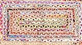 Indische Baumwolle Teppich Traditionelle Handarbeit Baumwolle Jute Teppich Jute Baumwolle geflochtenen Teppich Boden Jute Teppich klein Jute Teppich indischen geflochtenen Teppich Baumwolle geflochten Flickenteppich handgefertigt 91,4x 61cm Jute Flickenteppich, handgefertigt Baumwolle Jute Boden Teppich Teppich Block Print indischen Teppich, Teppich Läufer, handgewebt Teppich, Fußmatte, Indian Block Print Teppich, Indian handgefertigt 2x 3Flickenteppich, indischen Kilim Teppich, Fußmatte