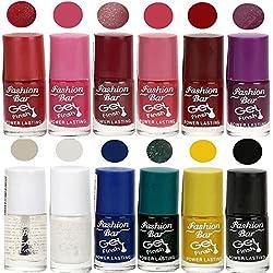 Exclusive Color Range Nail Polish Set of 12