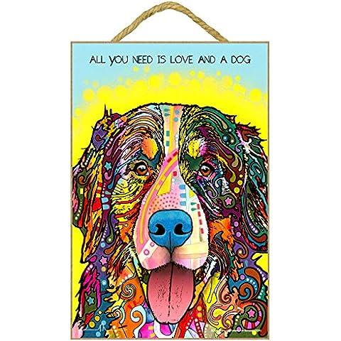 Bernese Mountain Dog-'Dean Russo'regalo, motivo: