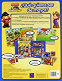 Image de ¿Qué quieres ser de mayor? (Fisher-Price): (Incluye cubos) (FISHER PRICE. LITTLE PEOPLE)