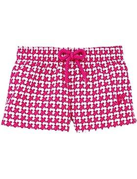 Pantalón corto con pernera de corte recto y estampado Baby Trop' - Niñas