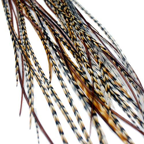 Extensions de cheveux en plumes véritables – Auburn Naturals