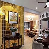 [Sponsored]Dakshita Home Decor - SQUARE Golden 3 Cm Each (Pack Of 100) 3D Wall Decor 3D Mirror Acrylic, 3D Acrylic Mirror Stickers For Wall, 3D Acrylic Wall Stickers For Living Room, Bedroom, Kids Room, Kitchen And Bathroom 3D Acrylic Mirror Wall Decor St