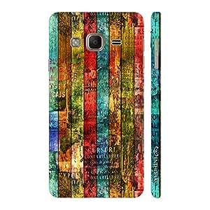 Enthopia Designer Hardshell Case Colour Wooden Grunge Back Cover for Samsung Galaxy Tizen Z3