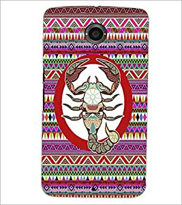 PrintDhaba Zodiac Cancer D-5846 Back Case Cover for MOTOROLA GOOGLE NEXUS 6 (Multi-Coloured)