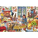 Bits and Pieces-Staying at Grandmas - 1000 Piece Jigsaw Puzzle