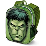 Karactermania Hulk Rage-3D Rucksack (Klein) Mochila Infantil 31 Centimeters 8.5 Verde (Green)