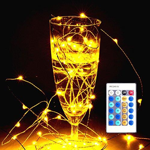 LUZWAY Stringa LED a Filo Rame,10M Piu