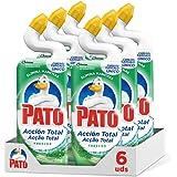 Canard Wc Action Nettoyant pour Toilettes Frescor Floral - Paquets de 6 x 750 ml - Total : 4500 ml
