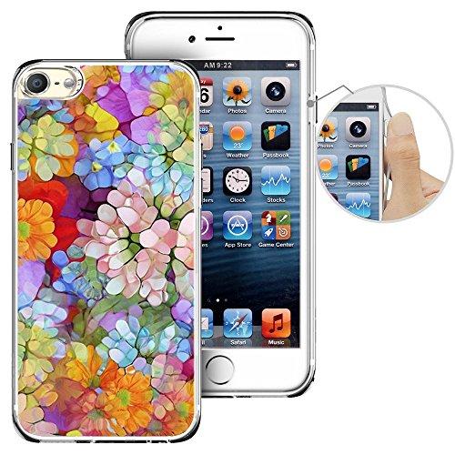 Für Ipod Touch 6. Fall, laaco Schöne Klar TPU Case Gummi Silikon Haut Cover Für Apple iTouch 6-Zeichen Design Pink Ocean, iTouch (28)
