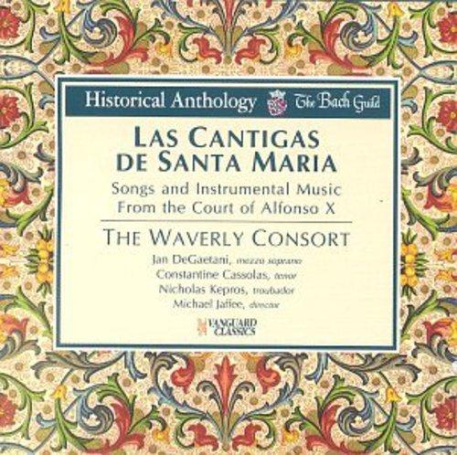 Las Cantigas de Santa Maria - Lieder und Instrumentalmusik am Hofe Alfonso X.
