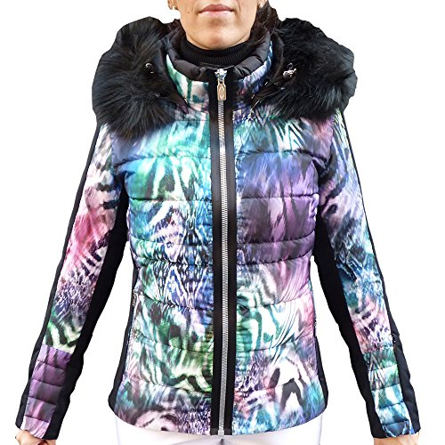 c9e05e9ab7 West Scout Abigail Real Down Ski Jacket Damen Skijacke animal mehrfarbig  (38)