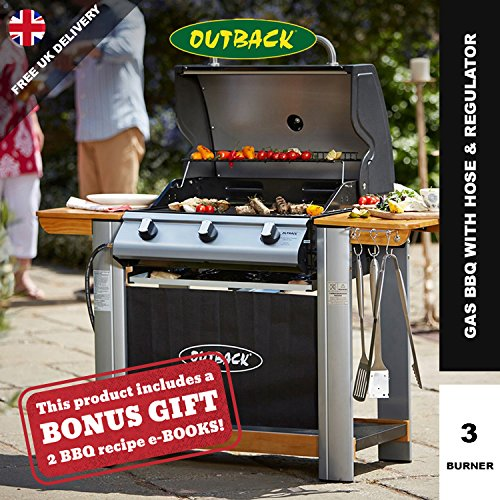 Outback Spectrum Hooded 3 Burner Gas BBQ