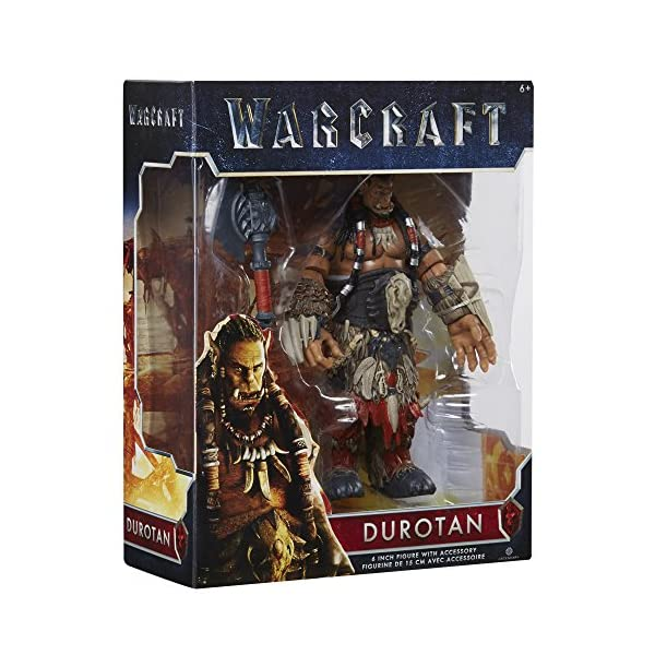 Warcraft 6 Durotan Action Figure With Accessory by Warcraft 6