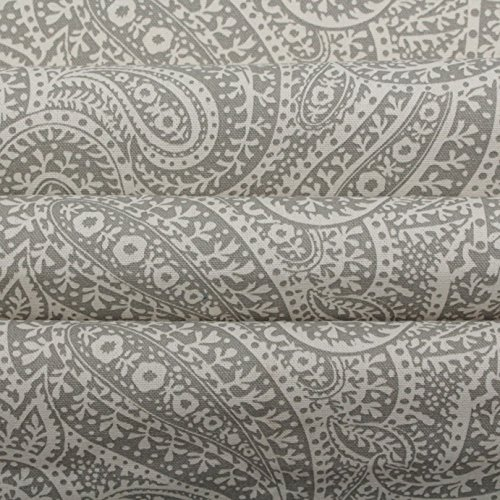 grey-paisley-100-heavy-cotton-panama-printed-childrens-curtain-cushion-upholstery-fabric-sold-by-the