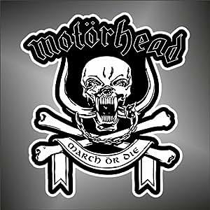 Adesivo Motorhead hip hop rap jazz hard rock pop funk sticker