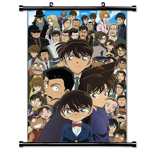 Detective Conan - Caja cerrada Anime cartel de la tela de la pared (16 x 22) pulgada