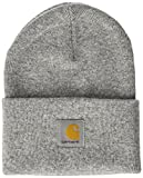 Carhartt Unisex Fedora Acrylic Watch Hat, Grau (Grey Heather), One Size