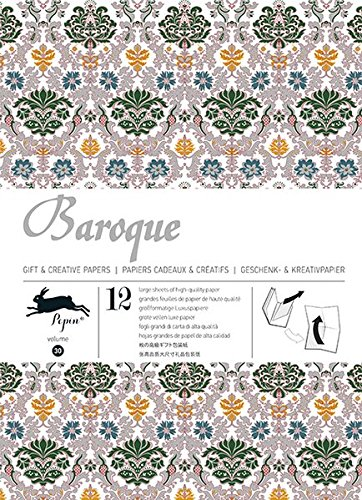 Baroque: gift and creative paper book vol. 30 (Gift Wrapping Paper) par Pepin van Roojen