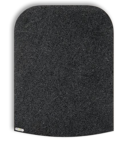 Stone4Slide® Thermomix Gleitbrett Gleiter aus Granit Padang Grey