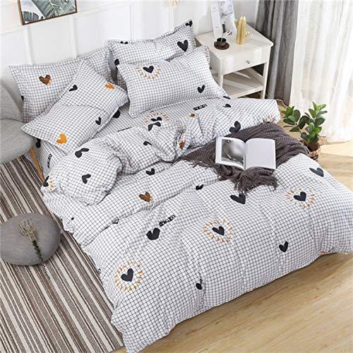 Bettwäsche-Sets XQU Cartoon-Katze 84pcs Mädchen-Junge-Kind-Bett-Abdeckung Set Bettbezug Erwachsene Kinderbett Bettwäsche und Kissenbezüge, König, Dame Tröster Bettwäsche-Set -