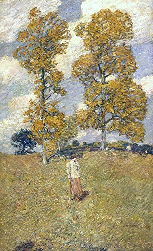 Das Museum Outlet - Die zwei Hickory Trees (Golf Player), 1919 - Leinwanddruck Online kaufen (76,2 x 101,6 cm) - Hickory Weiß Outlet