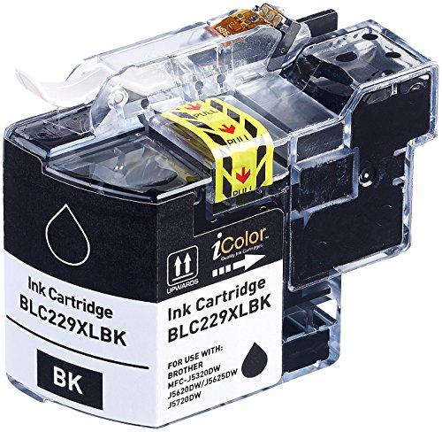 Preisvergleich Produktbild iColor Brother Patronen: Tintenpatrone für Brother (ersetzt LC-229XL), black (schwarz) (Kompatible Tintenpatronen für Brother Tintenstrahldrucker)